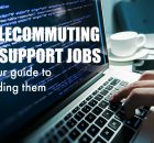 telecommuting IT support jobs