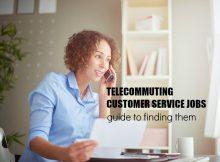 telecommuting customer service jobs